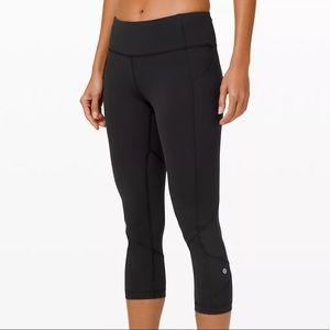 Lululemon Leggings with back zipper pocket 🖤